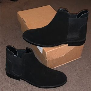 ASOS American Suede Chelsea Boots - READ SIZE INFO